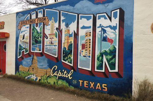 Austin, Texas Mural