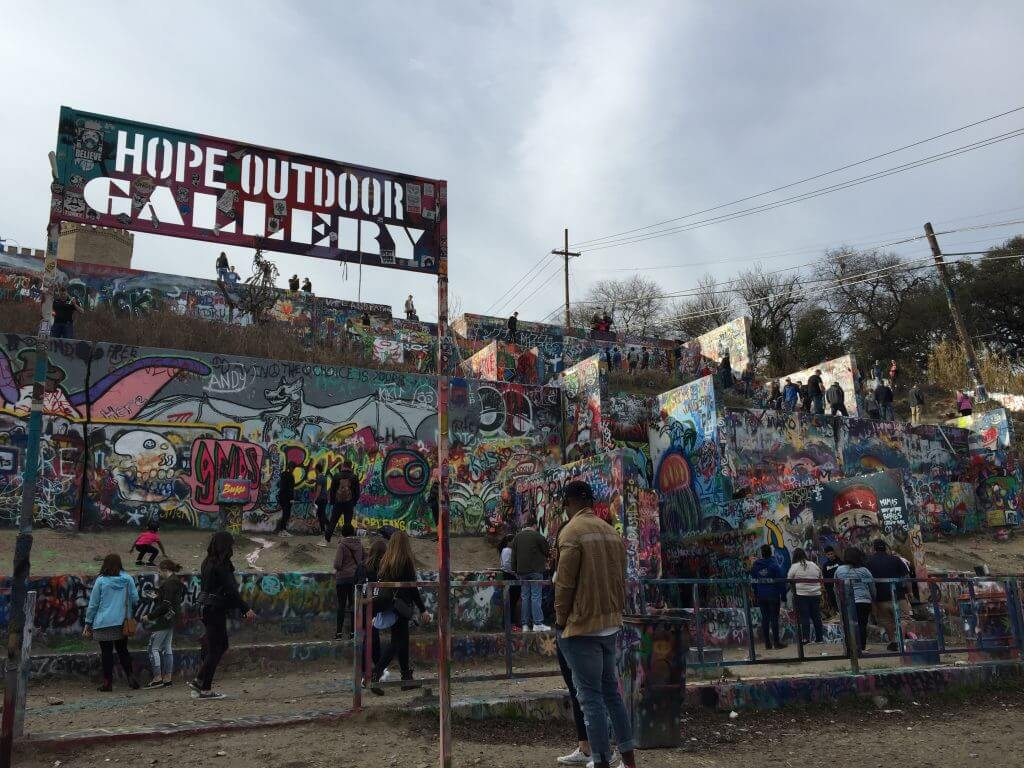 What to do in Austin, Texas Hope Outdoor Gallery