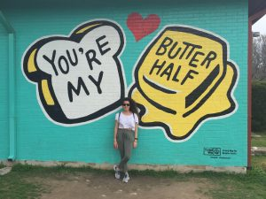 You're My Butter Half Mural in Austin, Texas