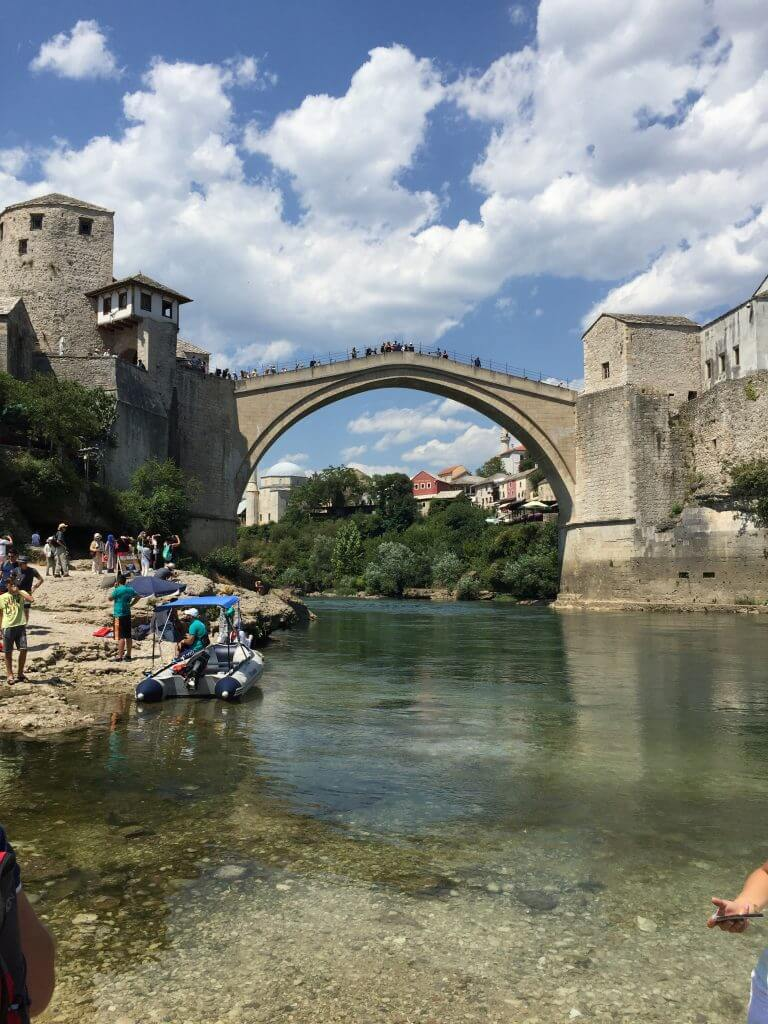 Best Place to Photograph Stari Most Steps 2