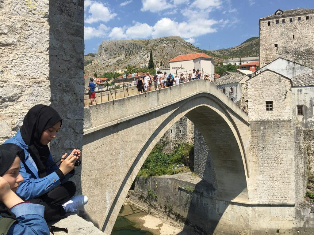 Best Places to Photograph Stari Most on Bridge