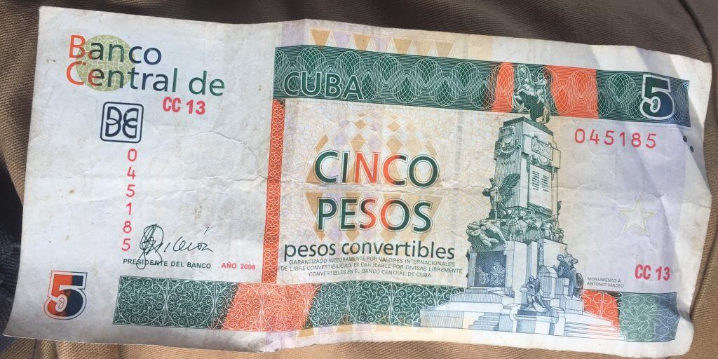 Cuba Money CUC