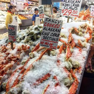 Pike Place Market Seafood 2