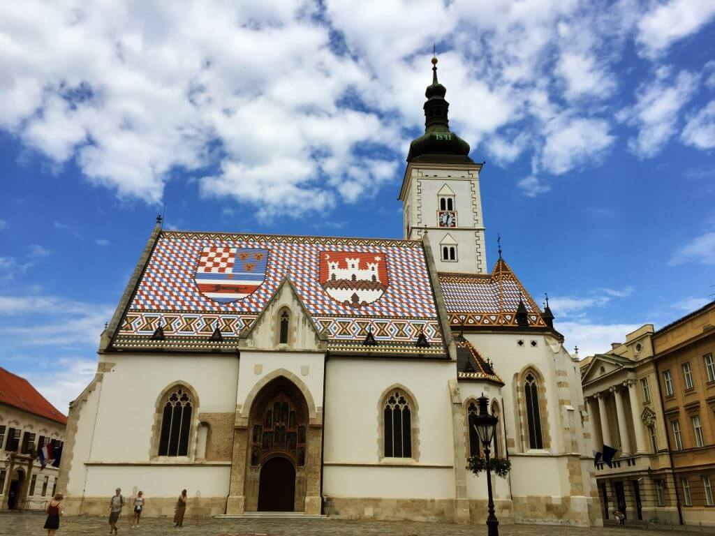 St Marks Church Zagreb