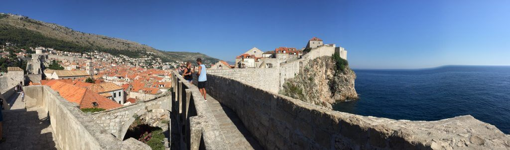 Walking Old Town Dubrovnik Walls