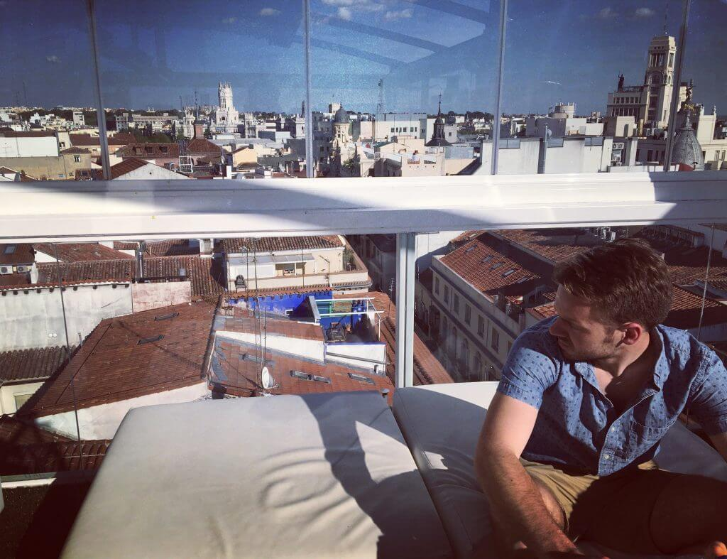 Best Rooftop Bars Madrid La Terraza de Oscar