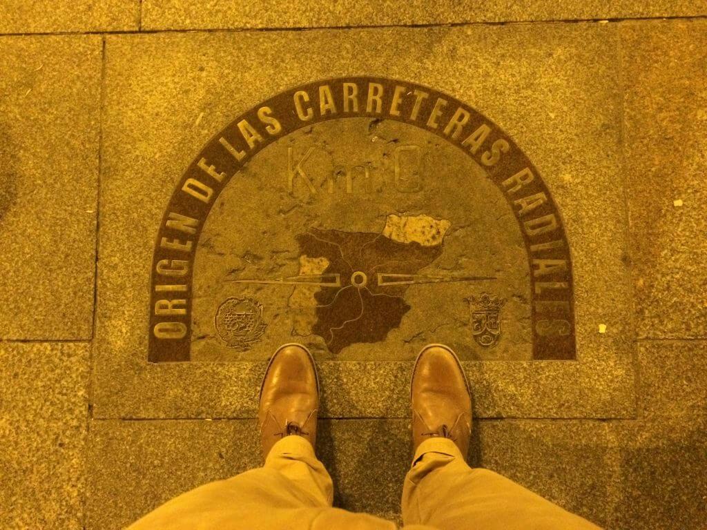 Kilometer Zero Madrid