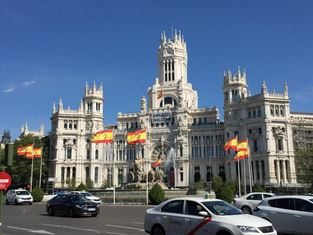 Plaza de Ciebles Madrid