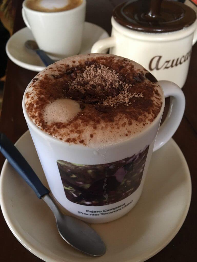 Delicious Hot Chocolate in Monteverde Made From Costa Rican Chocolate