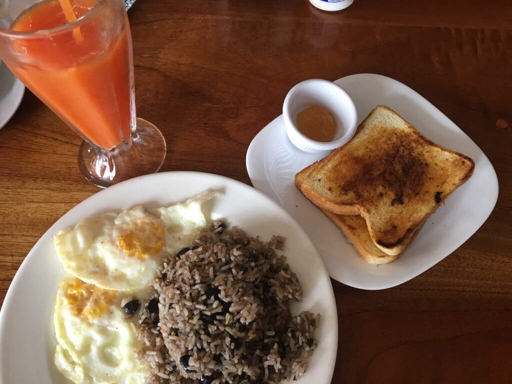 Costa Rica Breakfast