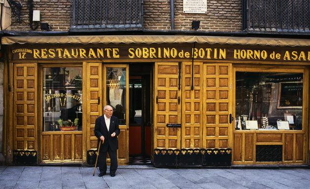 Sobrino de Botin Madrid