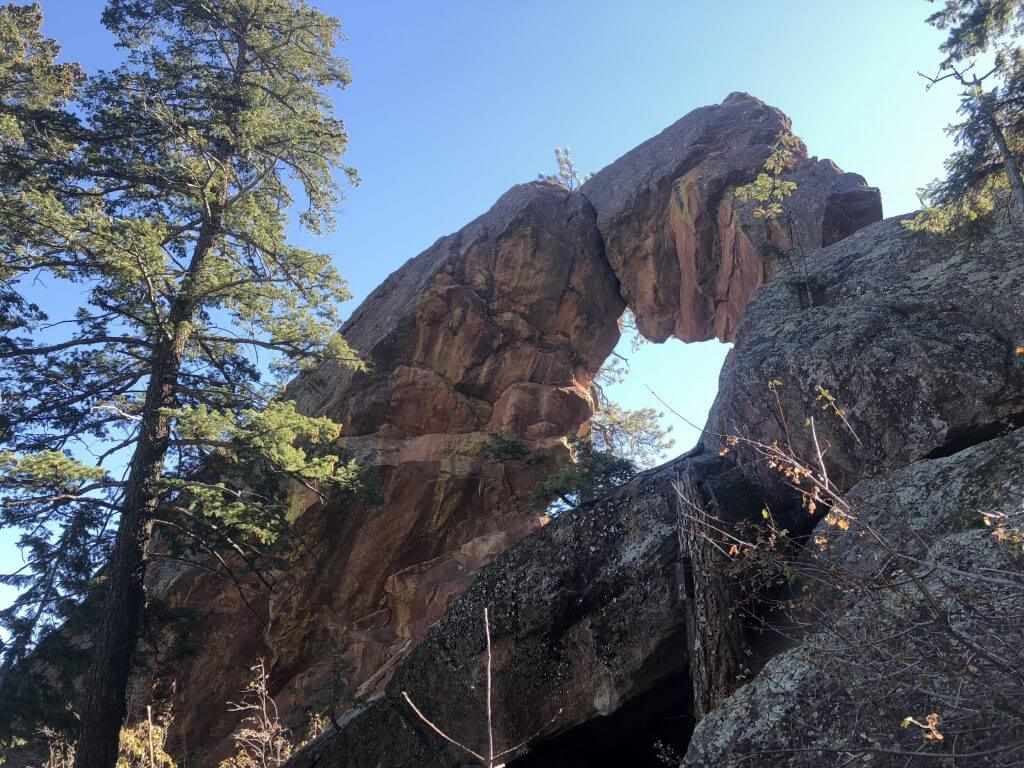 Royal Arch Hike Boulder