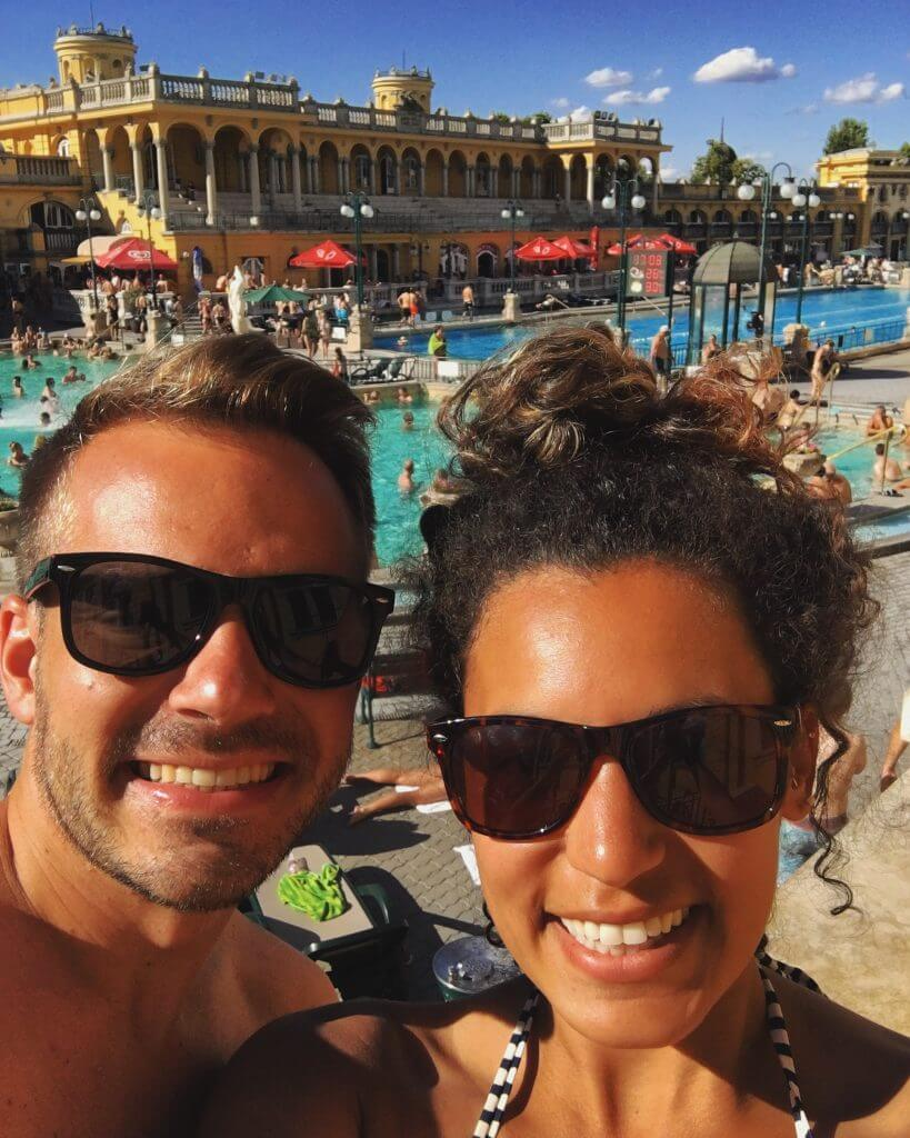 Szchenyi Thermal Baths Traveling to Budapest