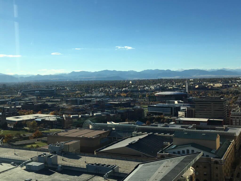 Peaks Lounge View Denver