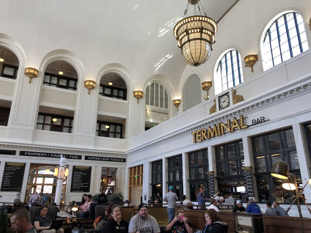 Inside Denver Union Station