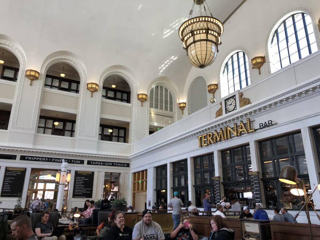 Inside Denver Union Station