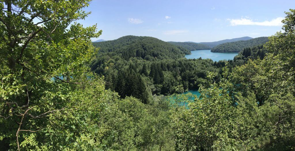 View of Plitvice