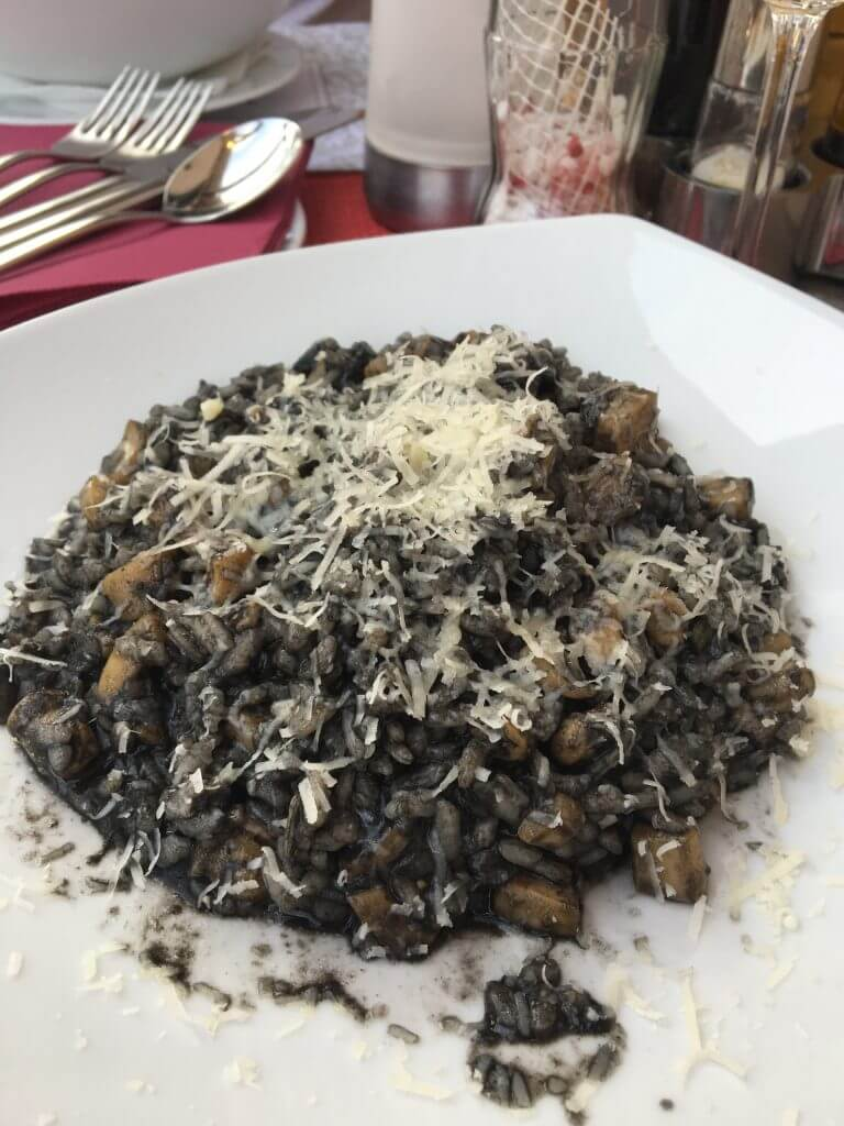 Croatia Seafood Risotto Squid Ink