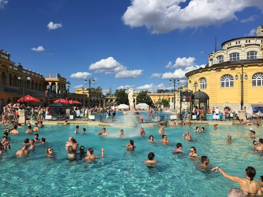 Széchenyi Baths Budapest