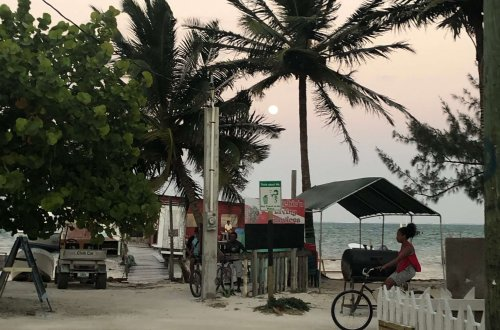 Caye Caulker Sunset Belize
