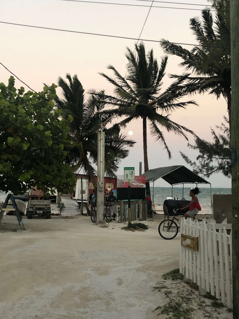 Caye Caulker Sunset Belize