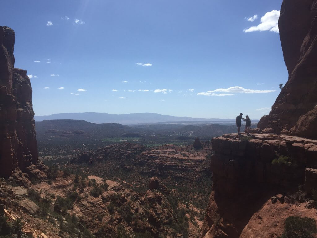 Sedona Cathedral Rock View