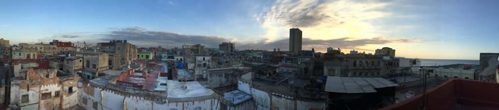yoga Havana Cuba Rooftop