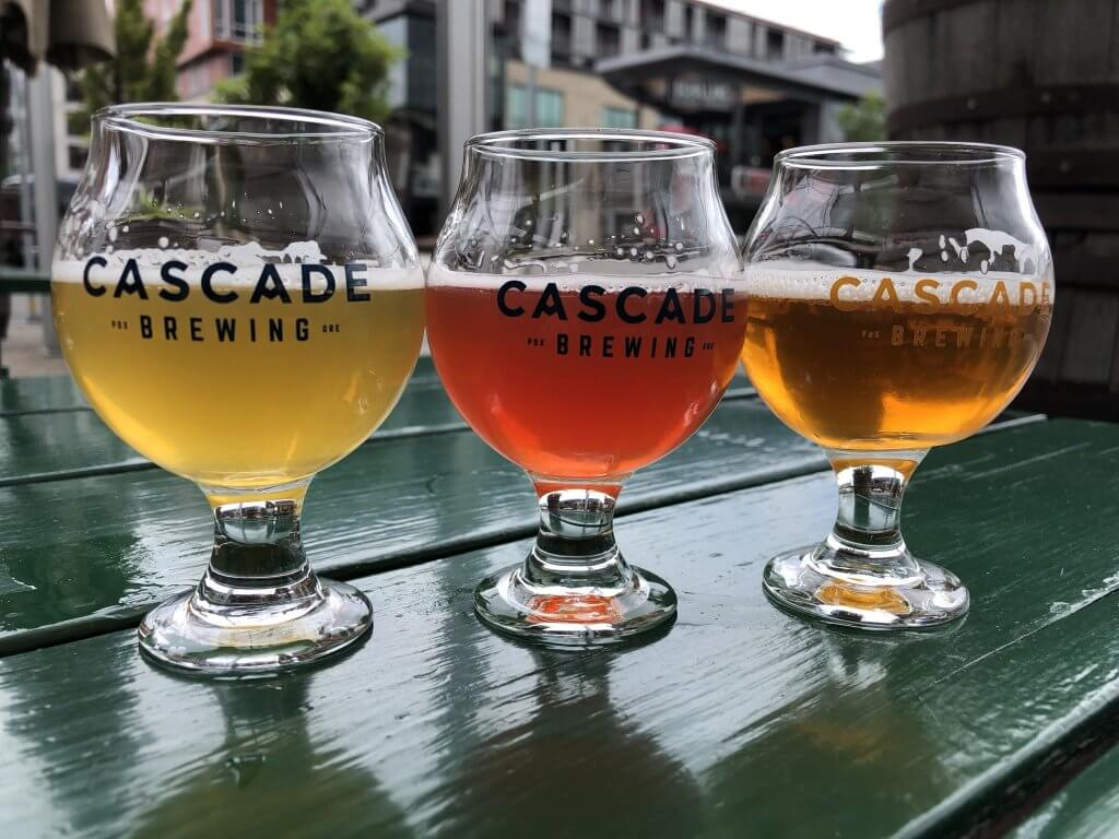 Cascade Brewing Barrel House Portland Sour Beer
