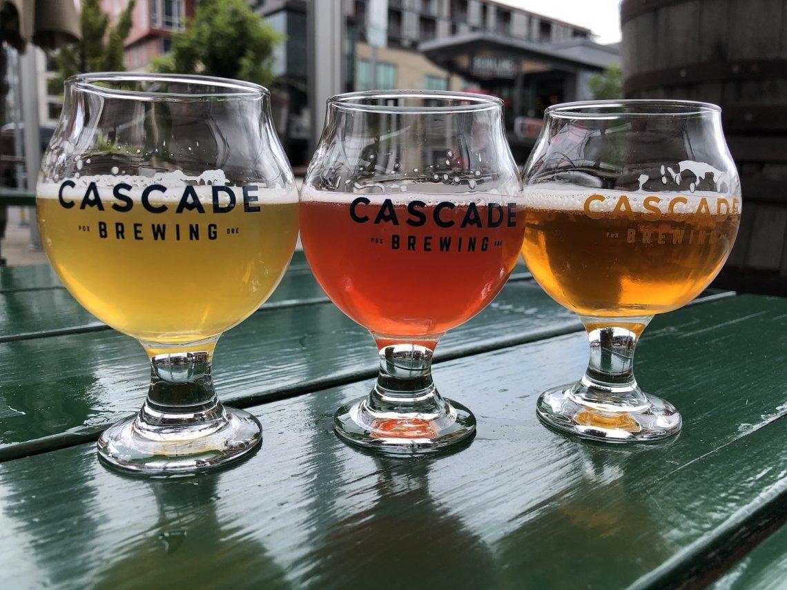 Cascade Brewing Barrel House Portland Sour Beer