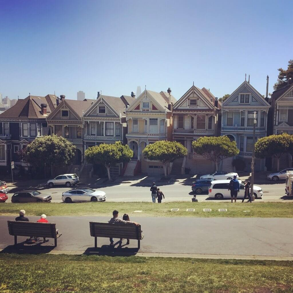 What to Do San Francisco Painted Ladies