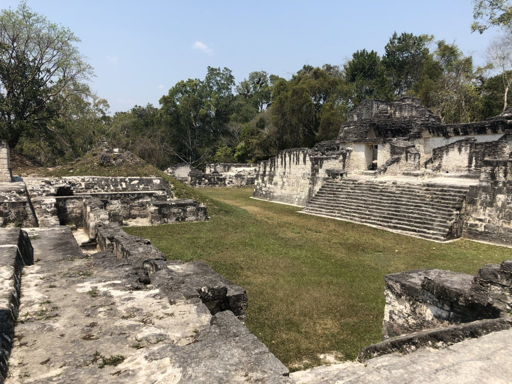 Central Acropolis in Tikal