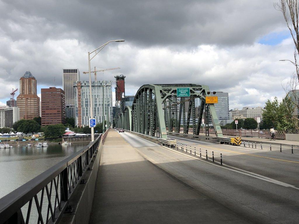 Hawthorne Bridge Portland