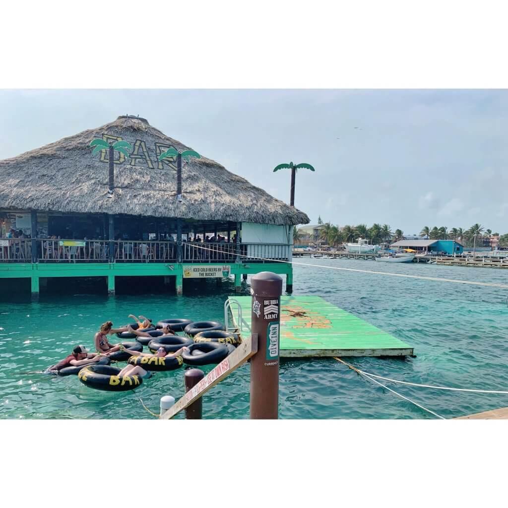 San Pedro Belize Palapa Bar