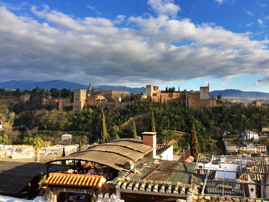 Outstanding Views Alhambra Granada Travel