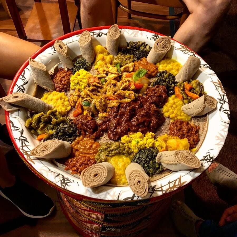 Best Vegetarian and Vegan Restaurants in Milwaukee Alem Ethiopian Village
